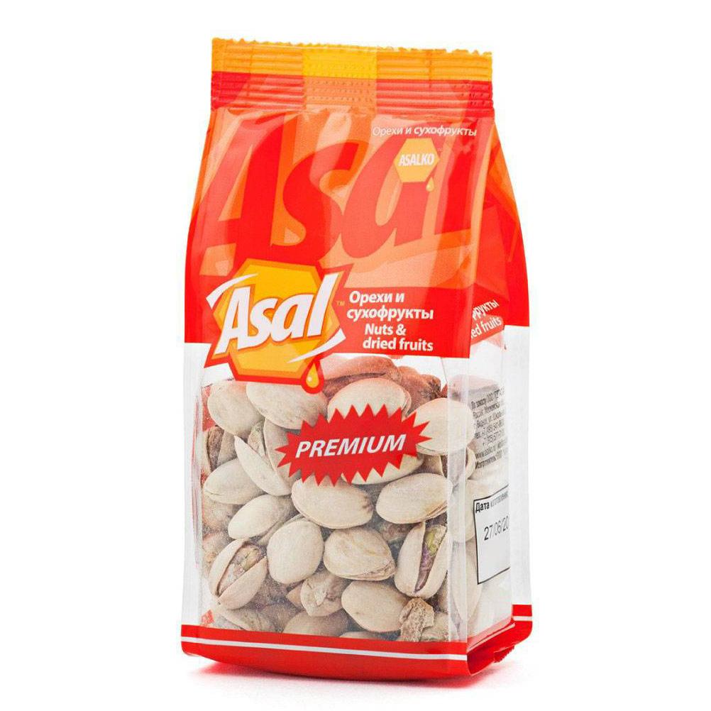 Фисташка Asal Premium 150 г кешью asal premium очищенный 150 г