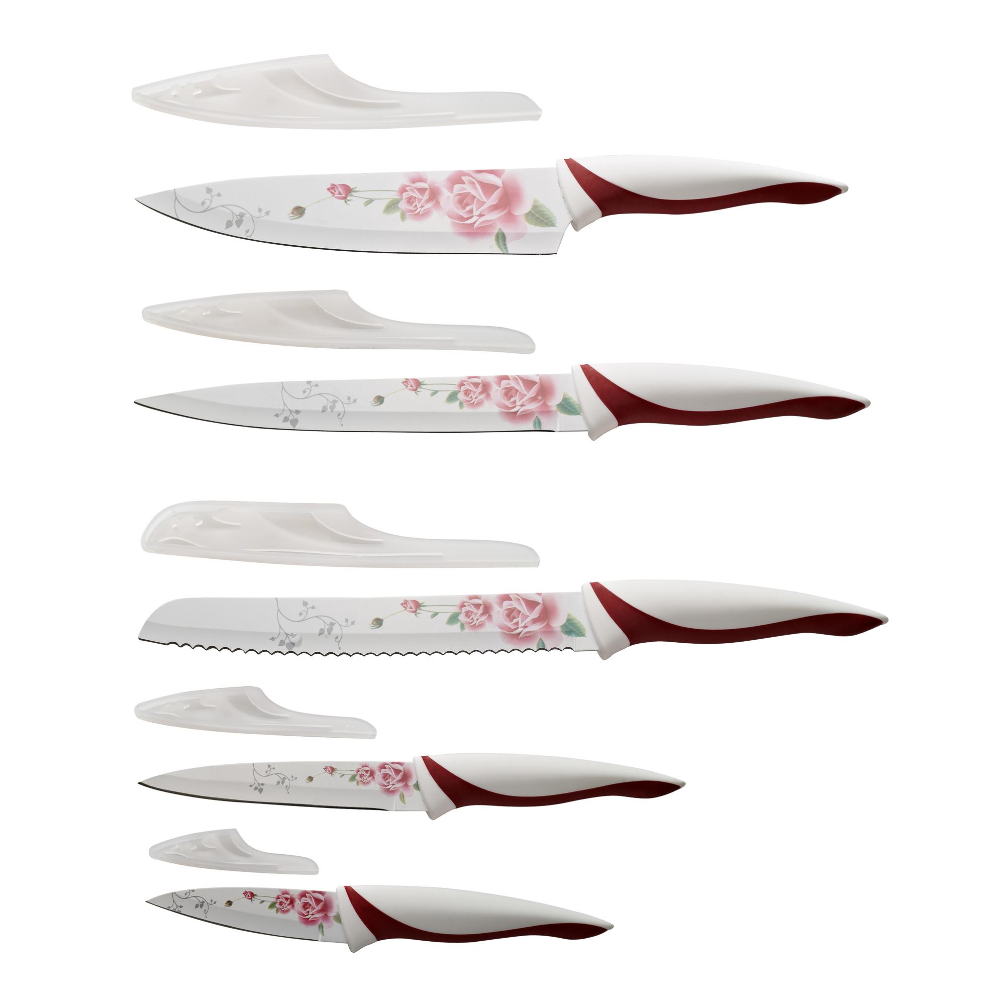 Набор ножей Gipfel 6768, 5 предметов с антипригарным покрытием недорого