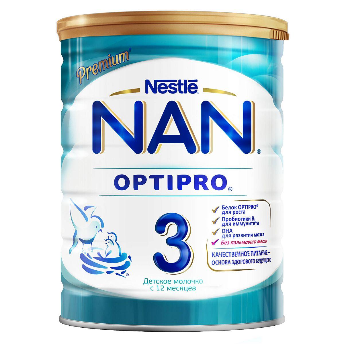 Фото - Детское молочко NAN 3 Optipro c 12 месяцев 800 г nan levinson outspoken