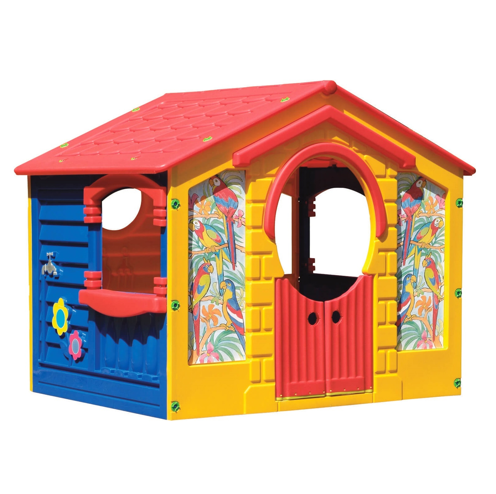 Домик-коттедж Marian plast 130х111х115 см