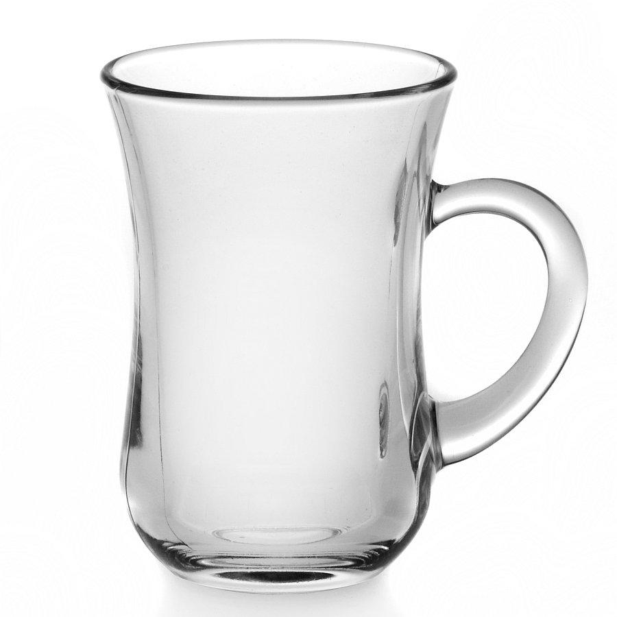 Стакан стеклянный с ручкой Pasabahce Tea&Coffee 145 мл