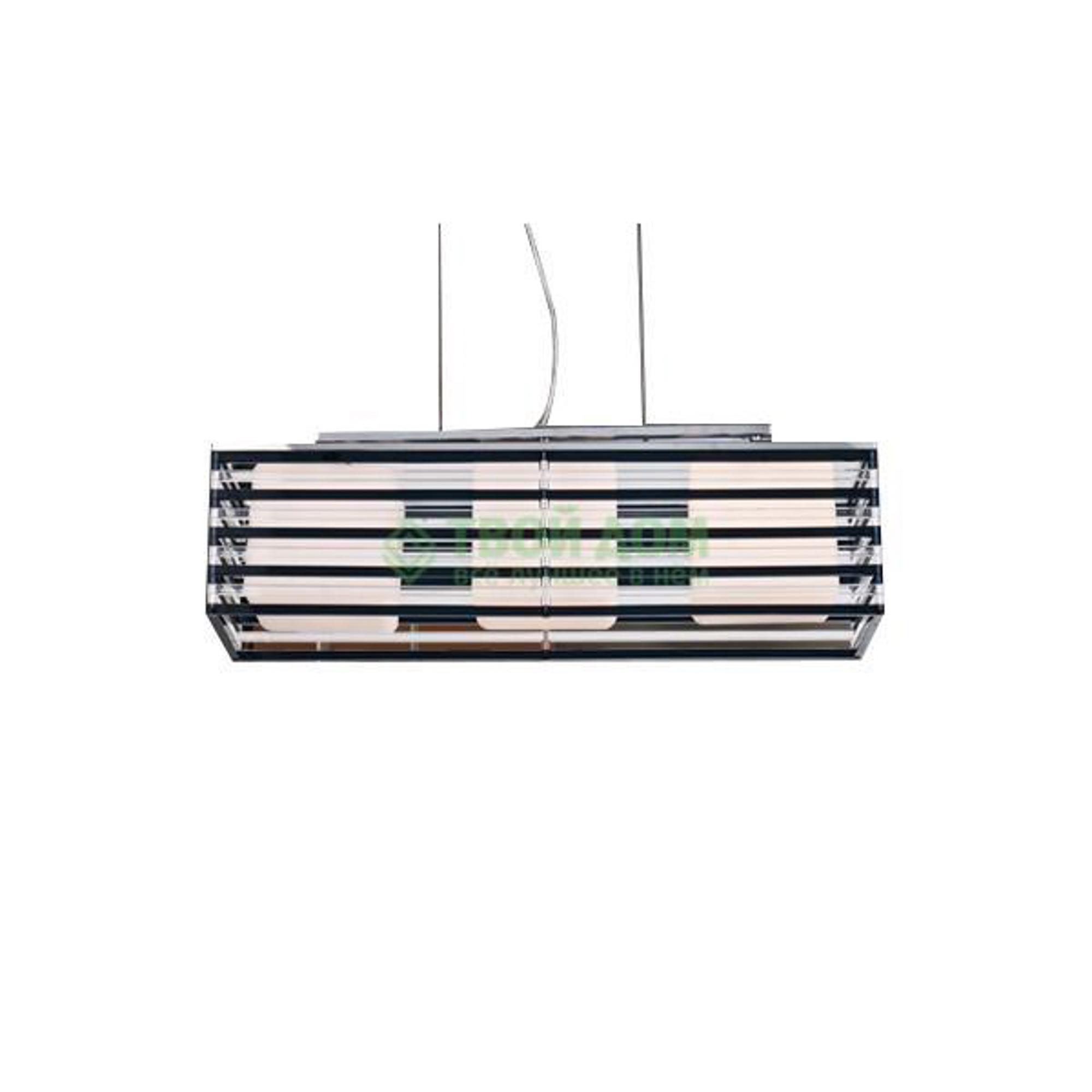 Купить со скидкой Люстра подвесная Cosma lighting Светильник подвесной черн/бел акрил (P1-582L-3CH-BC)