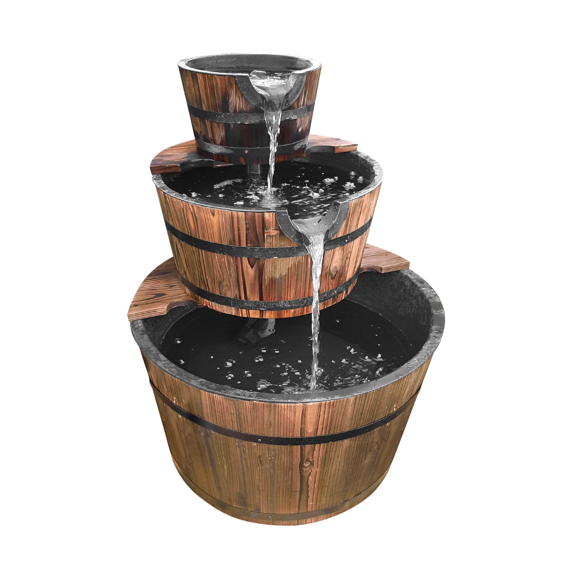 Фонтан деревянный Da sen lin д60х76см