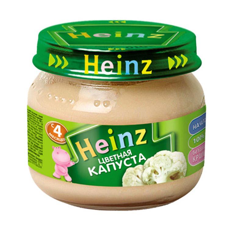 Пюре овощное Heinz Цветная капуста 80 г.