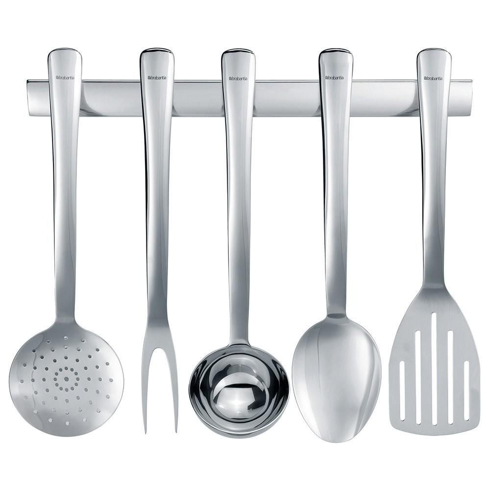 Кухонный набор Brabantia Brilliant Steel 6 предметов