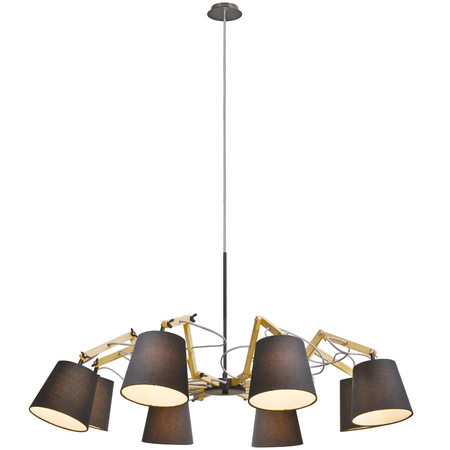 Светильник подвесной Artelamp A5700LM-8BK светильник подвесной artelamp