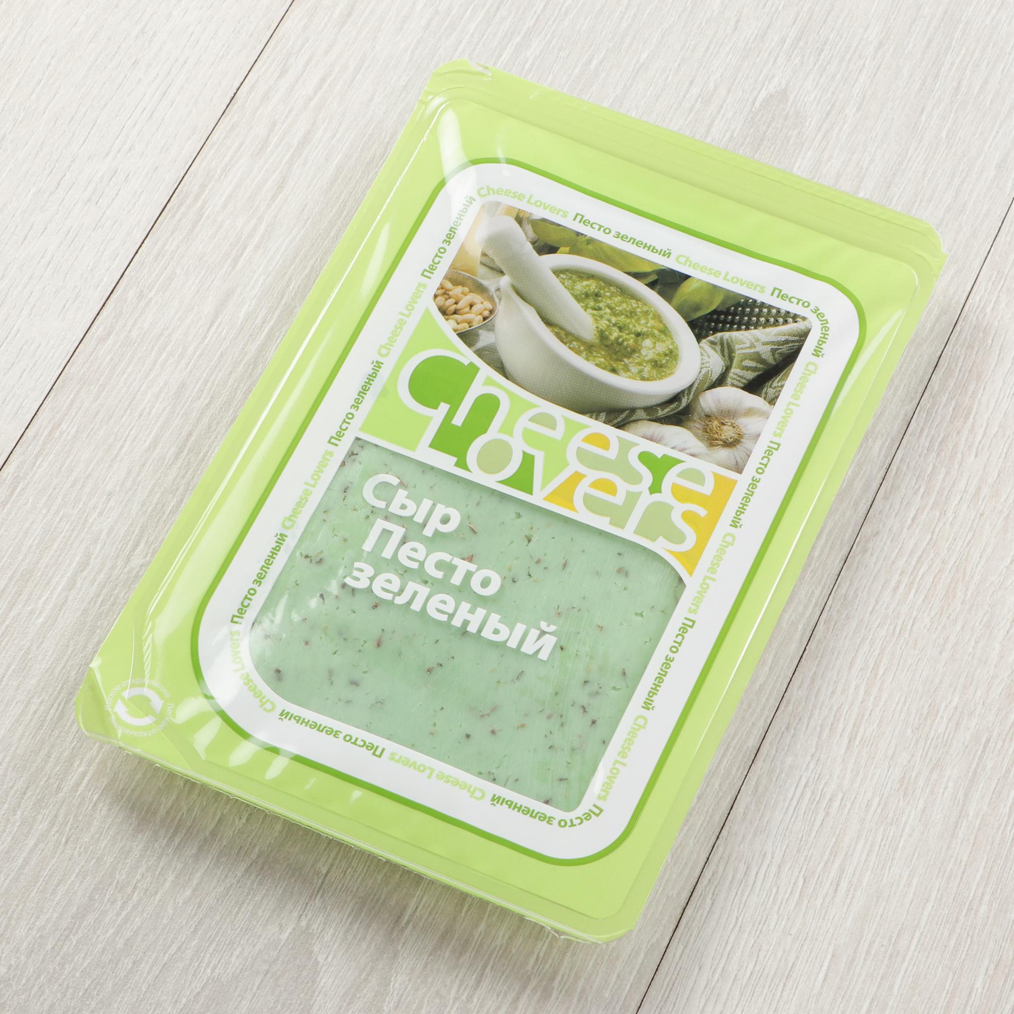 Сыр Cheeze Lovers Песто зеленый 50% 150 г