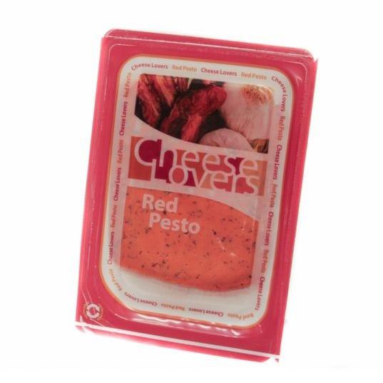 Сыр Песто Cheese Lovers красный 50% 150 г