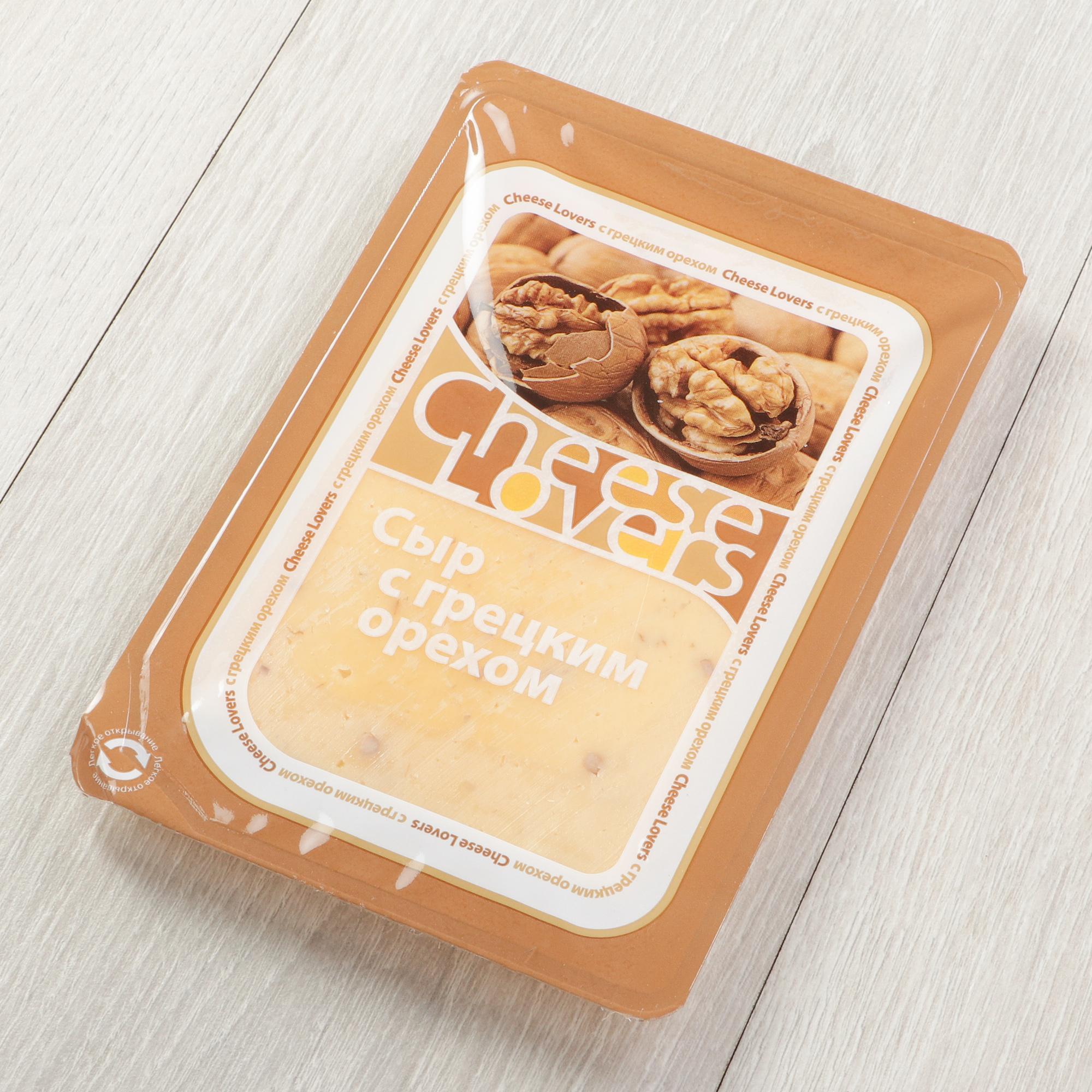 Сыр Cheeze Lovers с грецким орехом 50% 150 г недорого