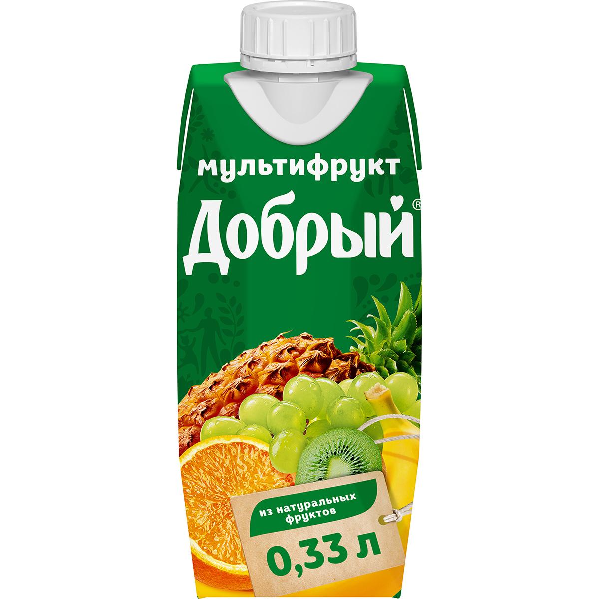 Нектар Добрый Мультифруктовый 330 мл