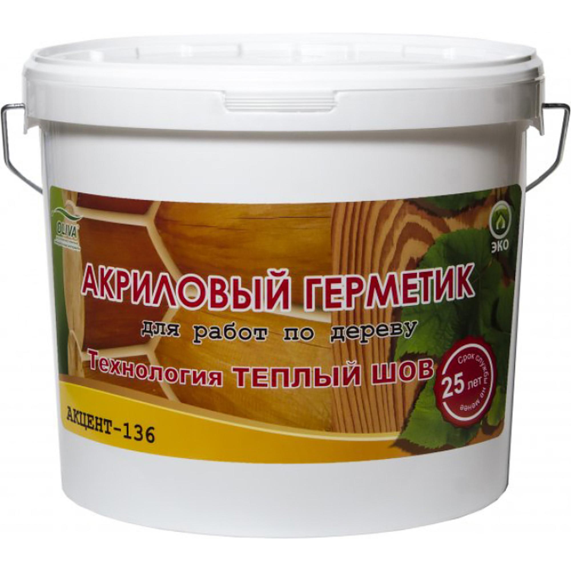 Герметик Oliva Акцент-136 Сосна 15 кг
