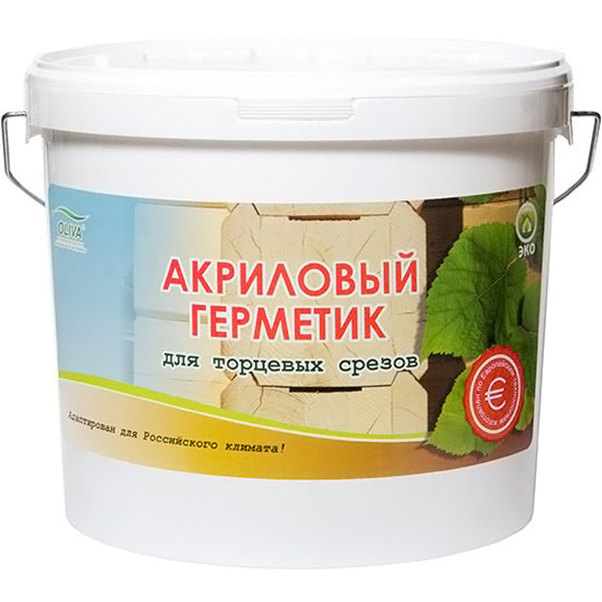 Герметик Oliva Акцент-140 Бесцветный 10 кг