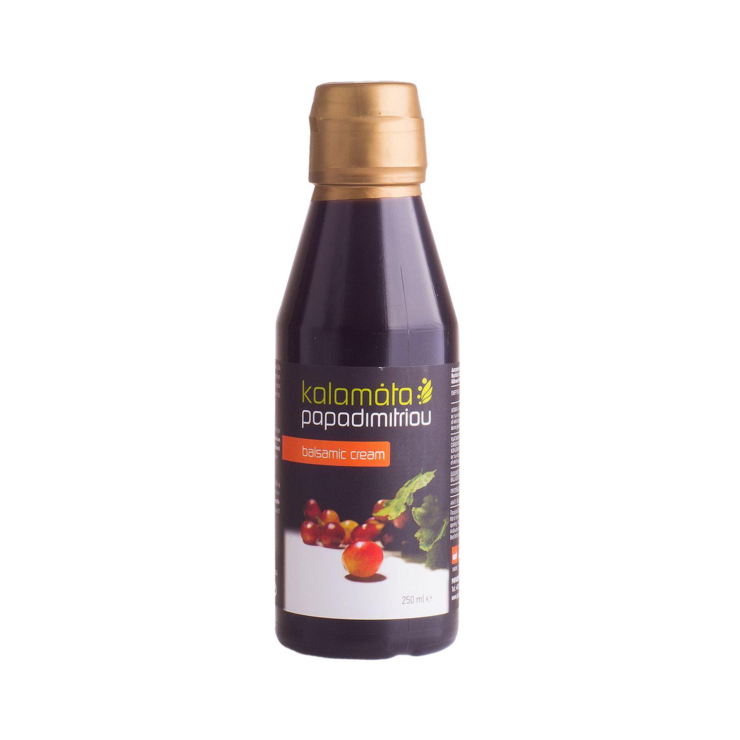 Соус бальзамический Papadimitriou Каламата 250 мл бальзамический крем papadimitriou с апельсином и лимоном 250 мл
