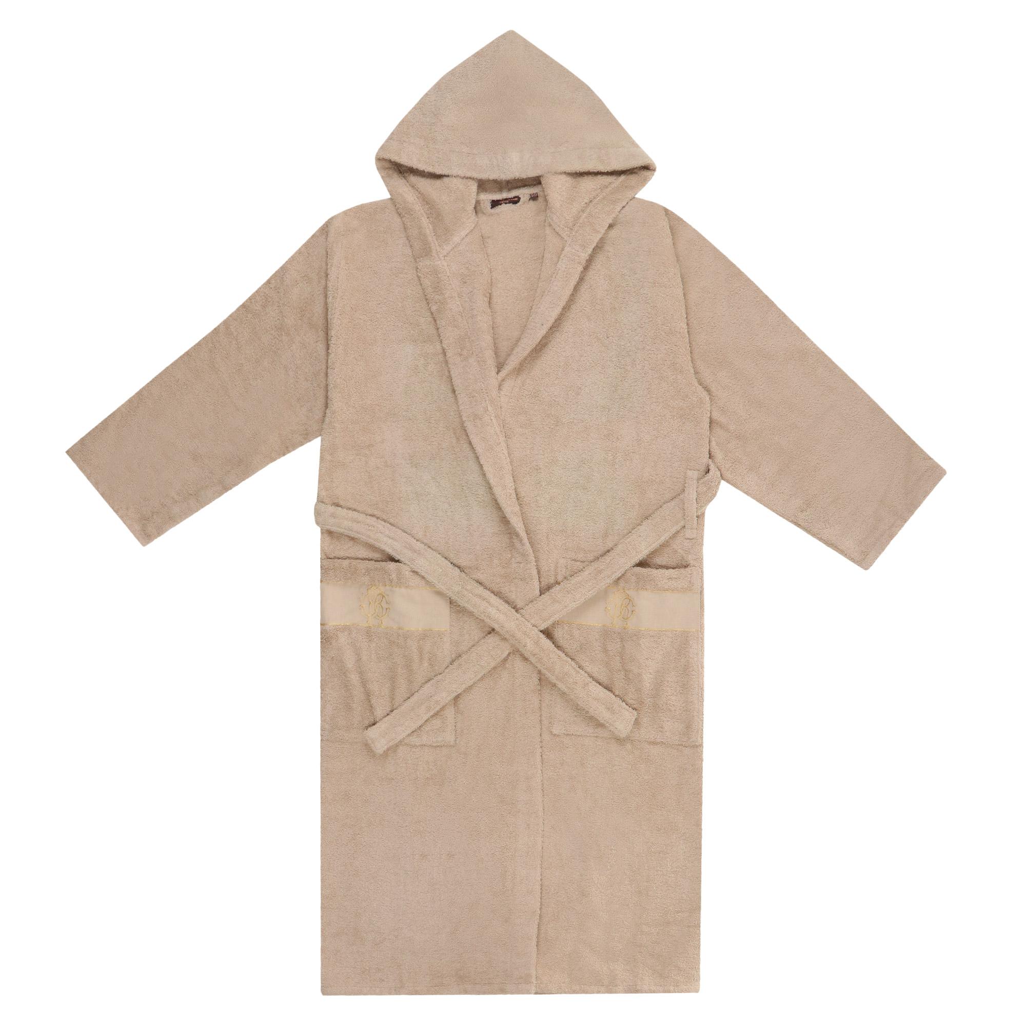 Халат с капюшоном Roberto Cavalli Araldico L/XL домашние халаты pastilla домашний халат лира l xl