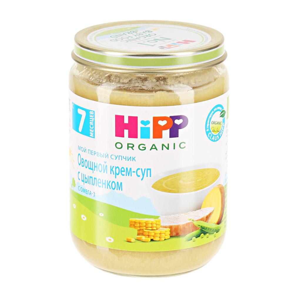 Крем-суп HiPP овощной с цыпленком 190 г