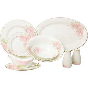 Сервиз обеденный Emerald Розовые цветы 50 предметов 12 персон