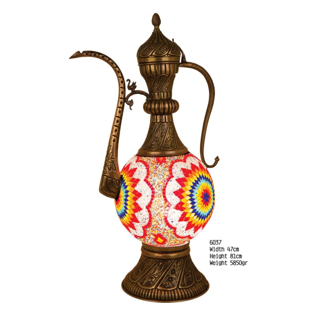 Настольная лампа Exotic 6037 мозаик