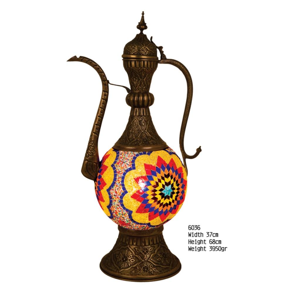 Настольная лампа Exotic 6036 мозаик