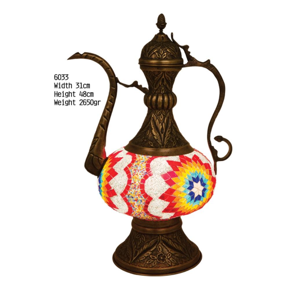 Настольная лампа Exotic 6033 мозаик