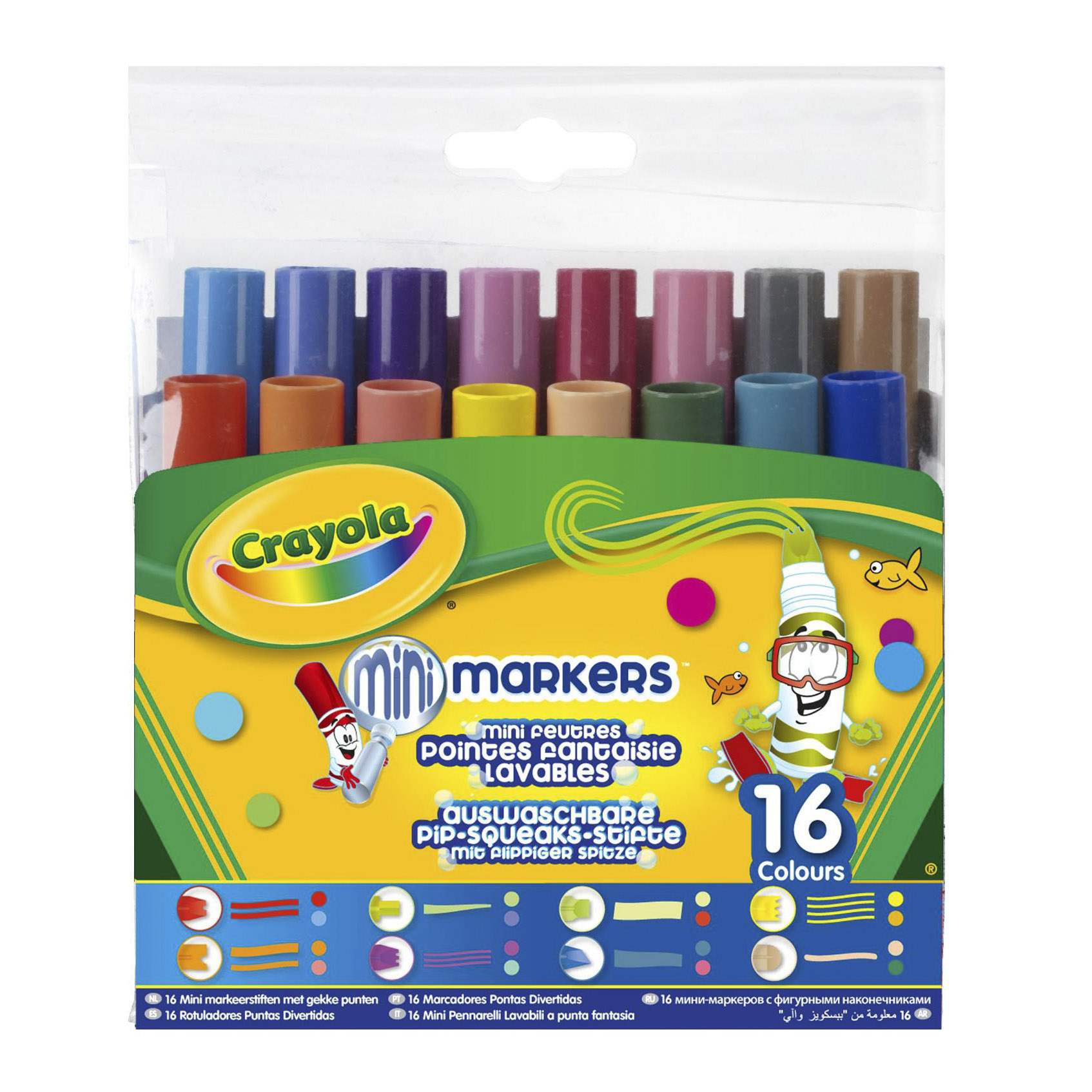 Набор для творчества Crayola Фломастеры (58-8709).