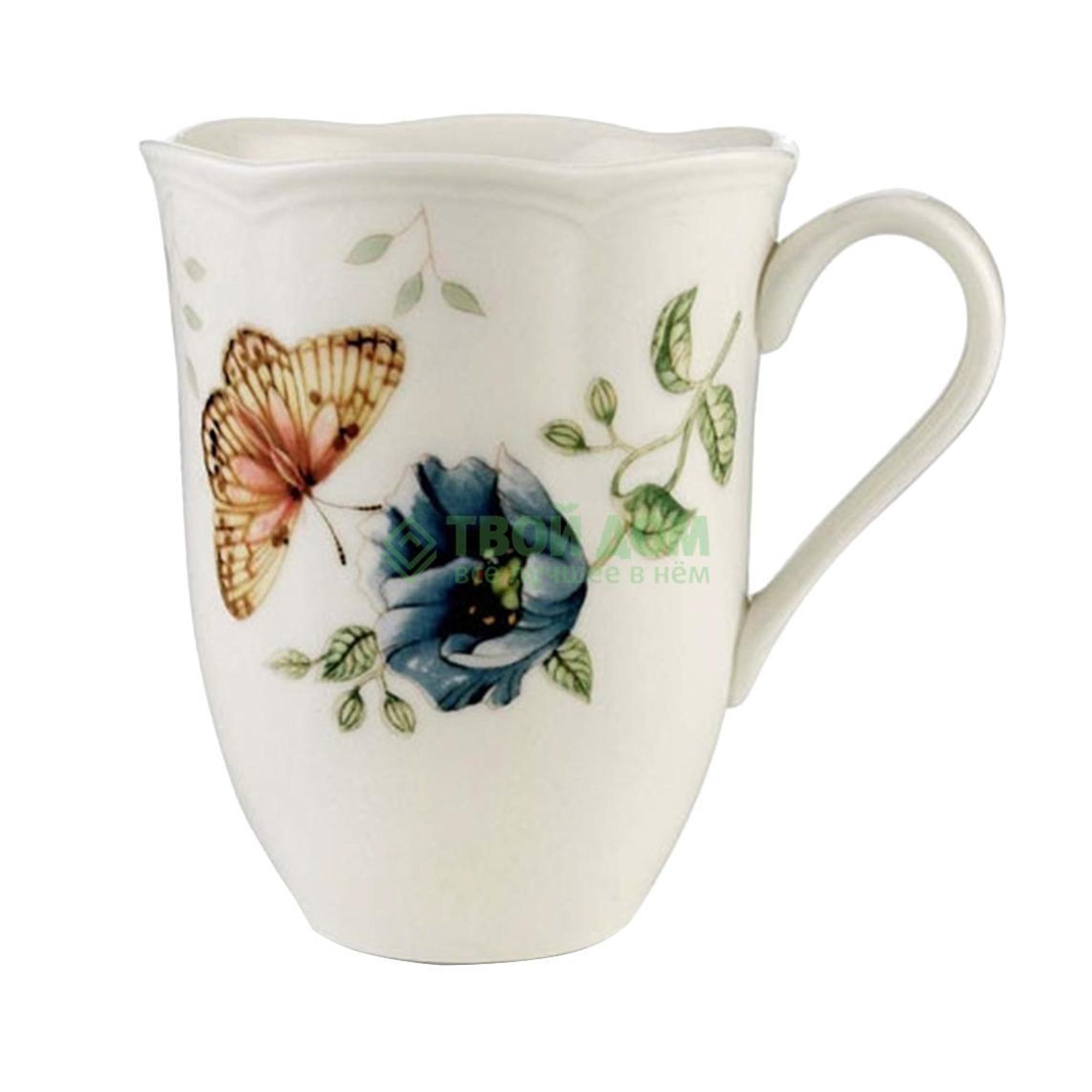Кружка Lenox Бабочки на лугу кружка 350 мл (LEN6083869) кружка бабочки с сердечками 300 мл osz
