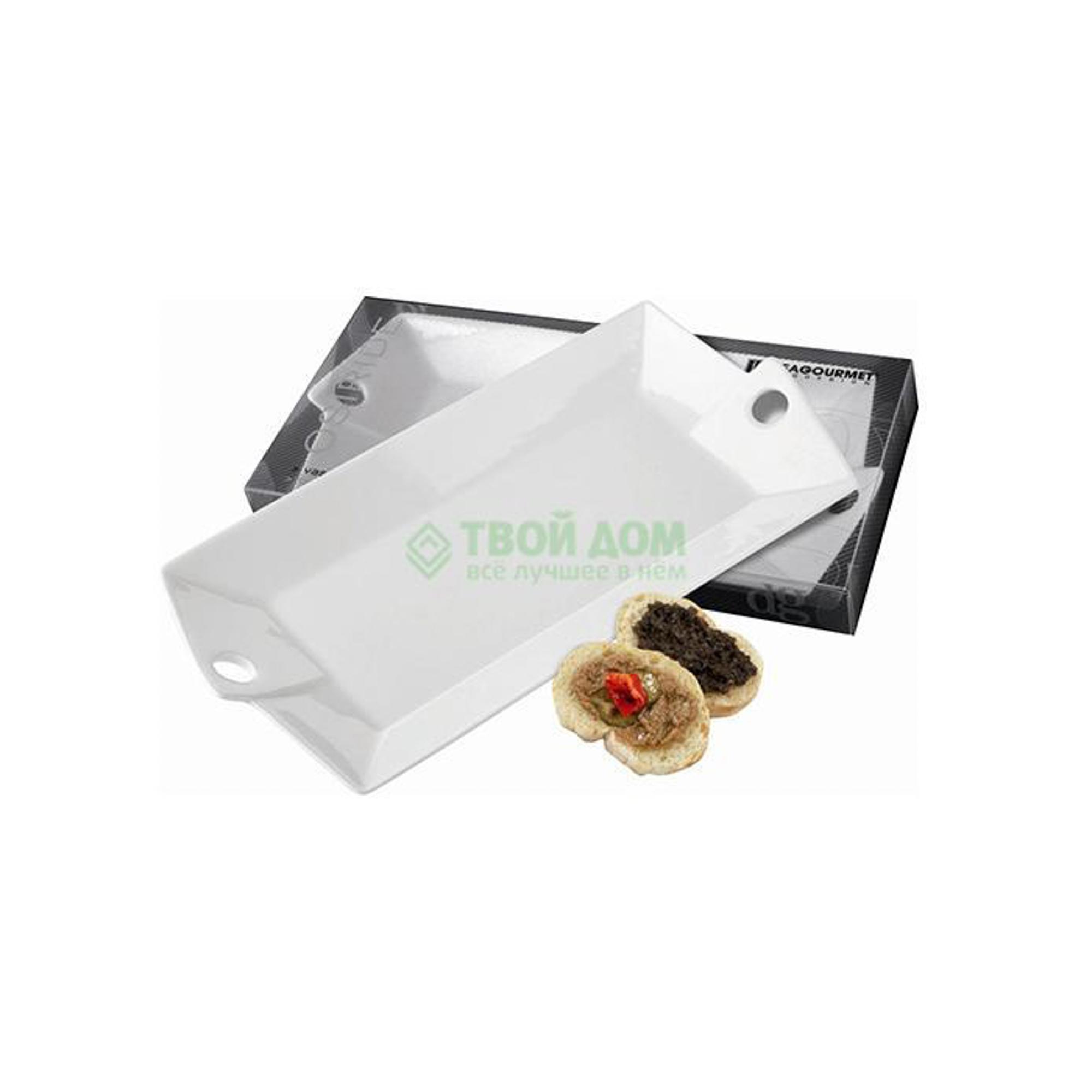 Блюдо DeaGourmet Osiride 25.5 х 12.5 см