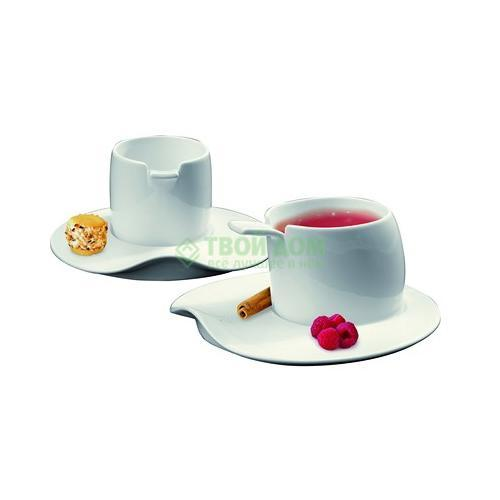 Набор чайный Deagourmet Materia 4 предмета - 2 чашки с блюдцем 220мл (198)