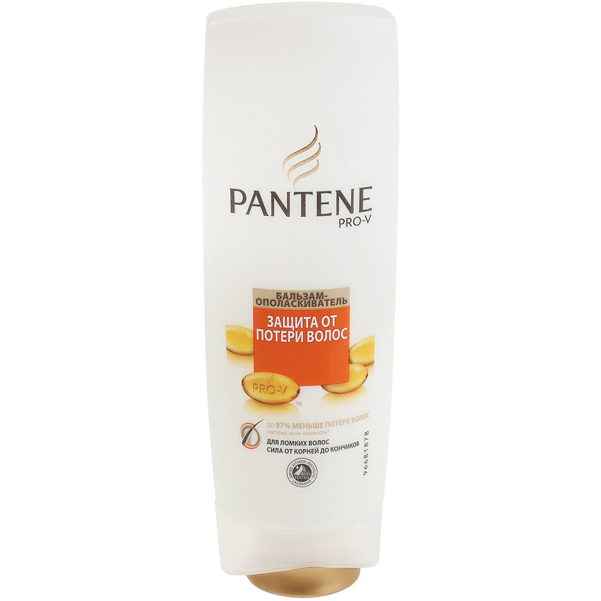 Бальзам-ополаскиватель Pantene Защита от потери волос 400 мл pantene бальзам ополаскиватель защита от потери волос для ломких волос 360 мл