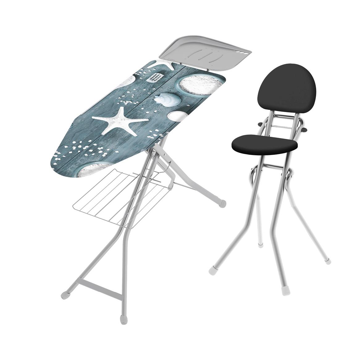 Гладильная доска Colombo Доска+стул Amigo