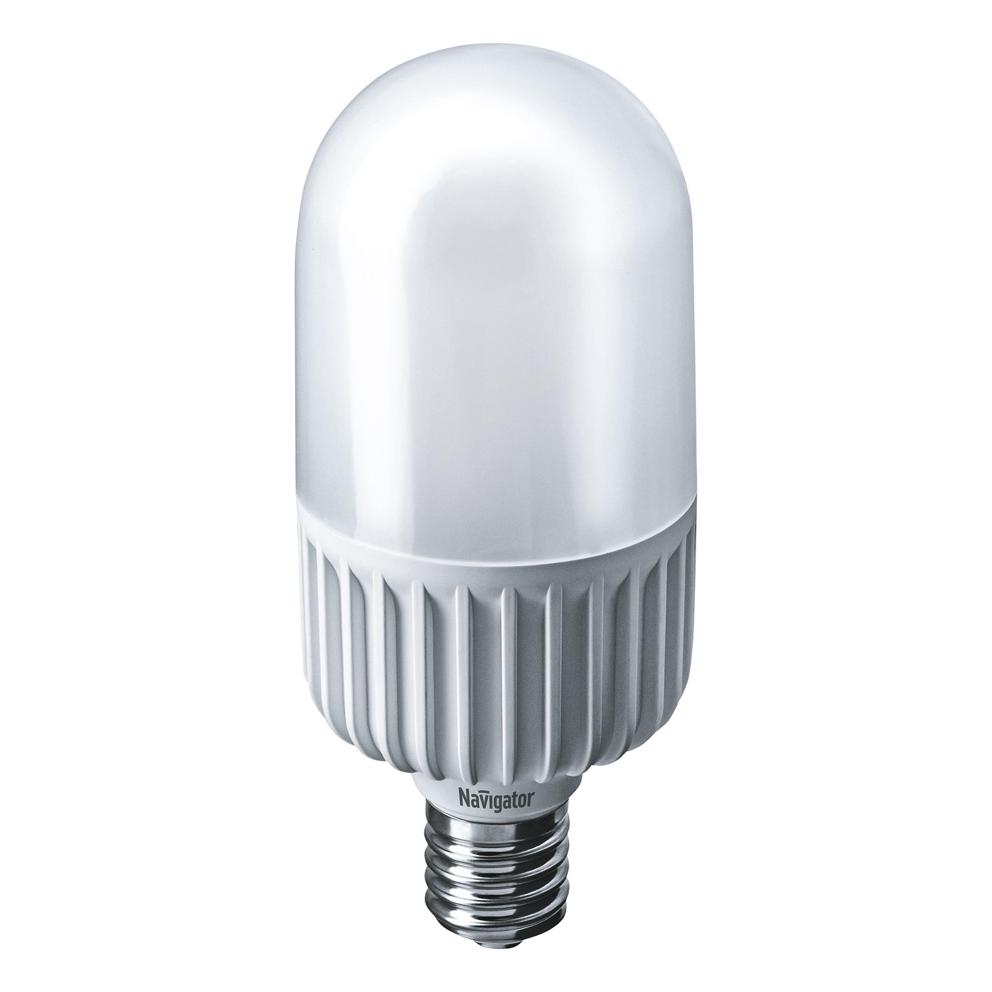 Фото - Лампа светодиодная Navigator колба T105 45Вт цоколь E40 (холодный свет) лампа люминесцентная navigator t5 6вт цоколь g5 холодный свет