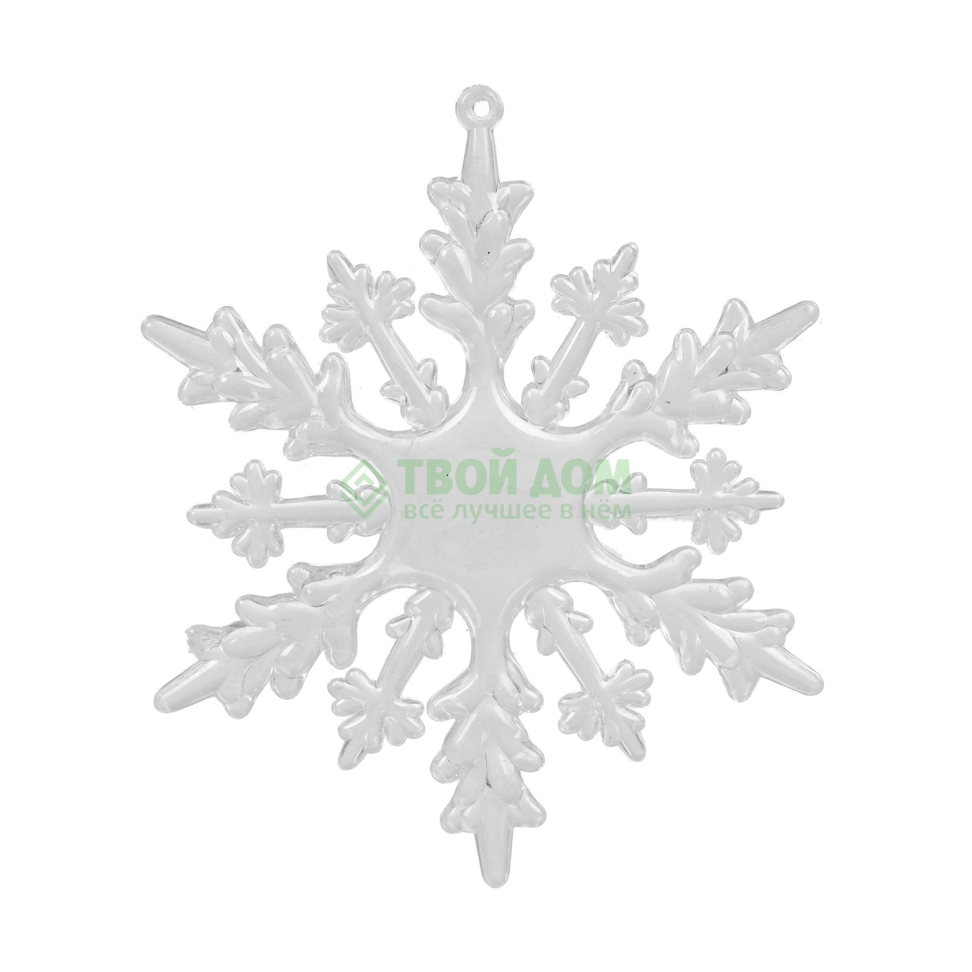 Игрушка KaemingK Снежинка 10см 2шт (517925)