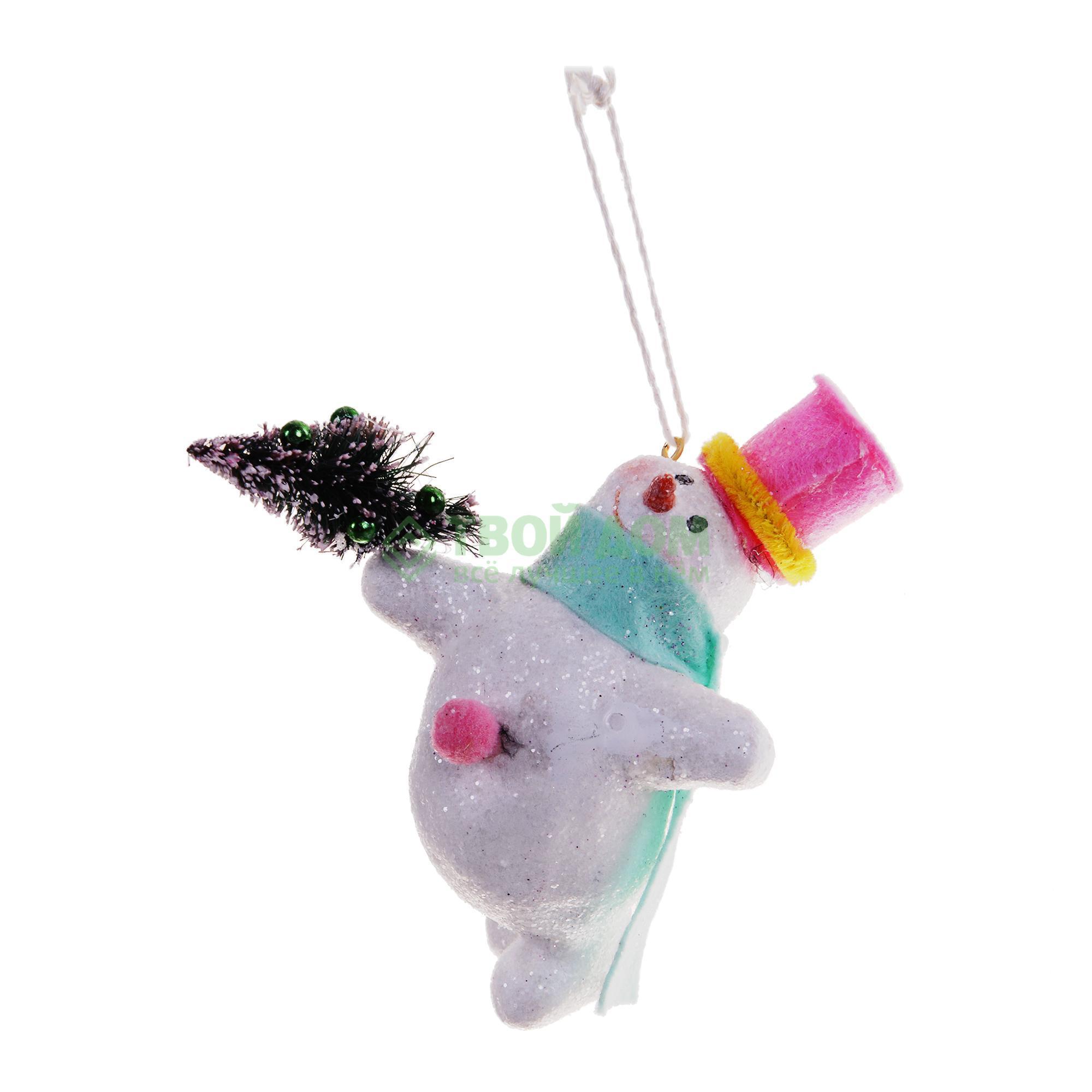 Фигурка Goodwill Снеговик 12.5см (Y 28219) фигурка lefard снеговик 787 179