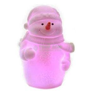 Фигурка Kaeming Снеговик светящийся LED 13см (482642)