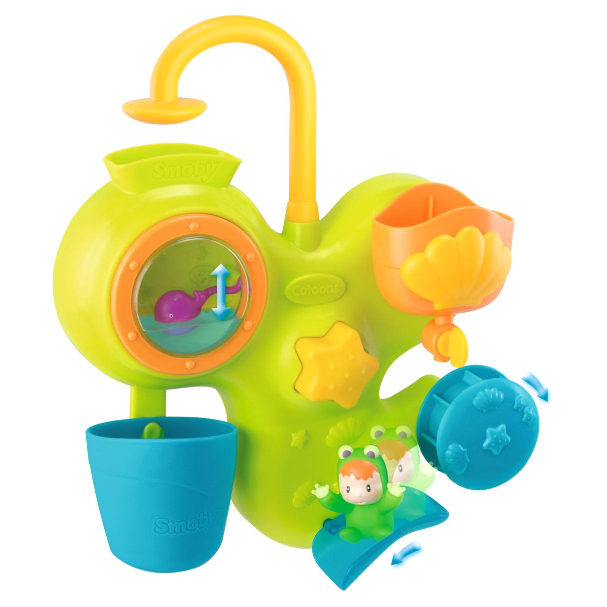 Игровой центр для ванны Cotoons Smoby мобиль smoby cotoons 110116