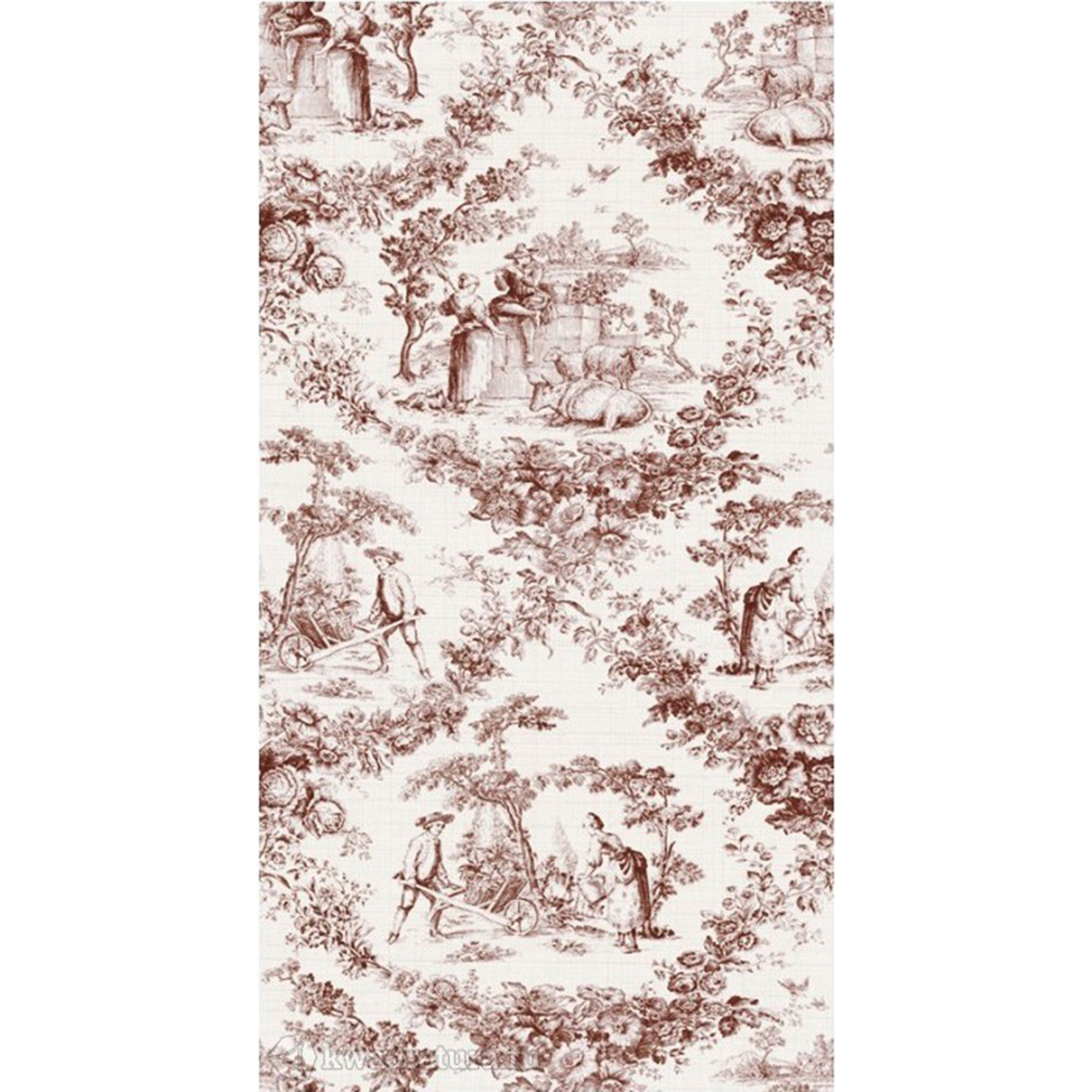 Плитка Tau Ceramica Campagne Marron Paysage 31,6x60 см