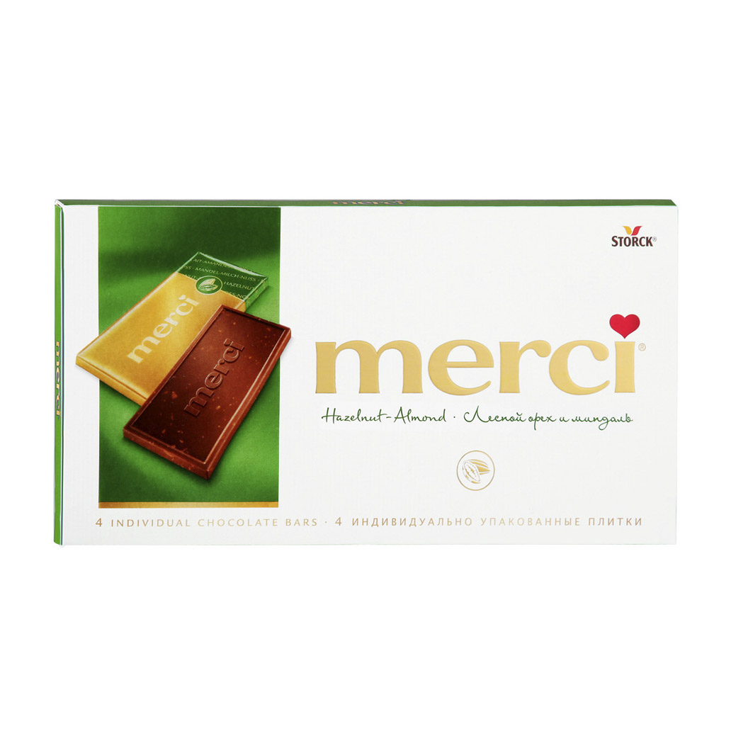 Фото - Шоколад Merci Лесной орех и миндаль 100 г merci водолазки