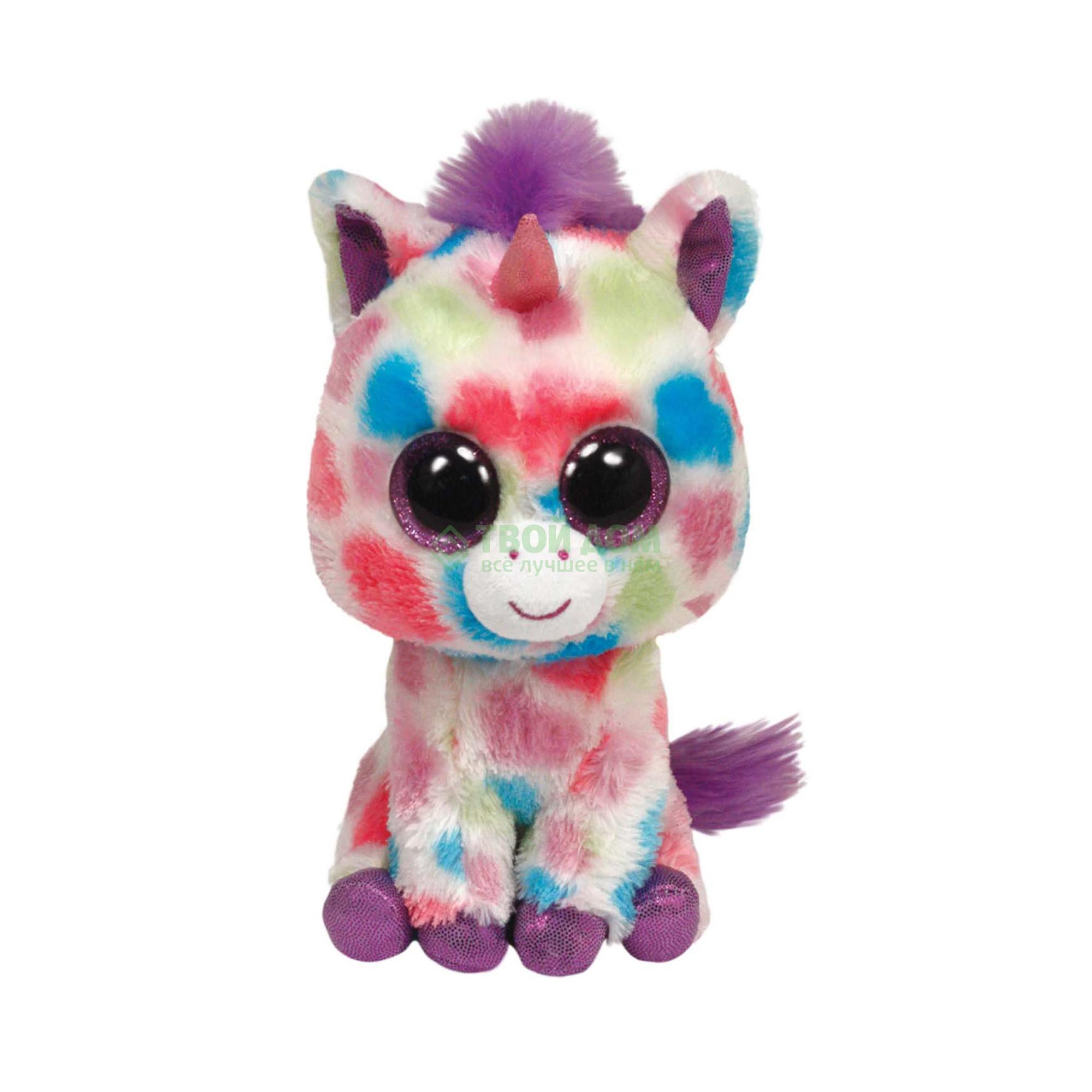 Мягкая игрушка Ty 36982 Beanie Boos Единорог Wishful
