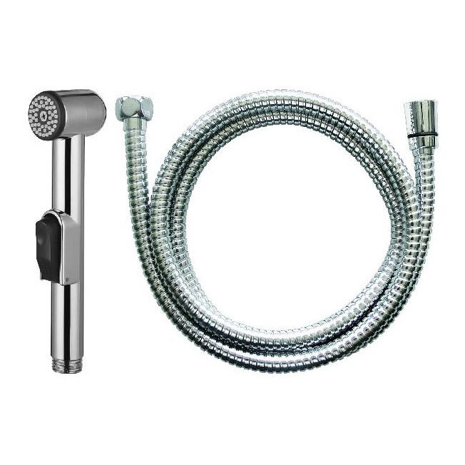 Купить Гигиенический душ AM.PM F0202000 со шлангом, душ гигиенический, Германия, хром, пластик