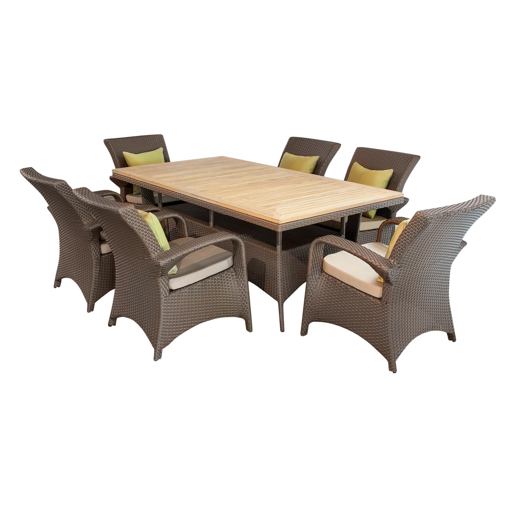 Комплект мебели Derong 7 предметов (DR-3108/DR-3108T/DR-3108C) мебель из ротанга