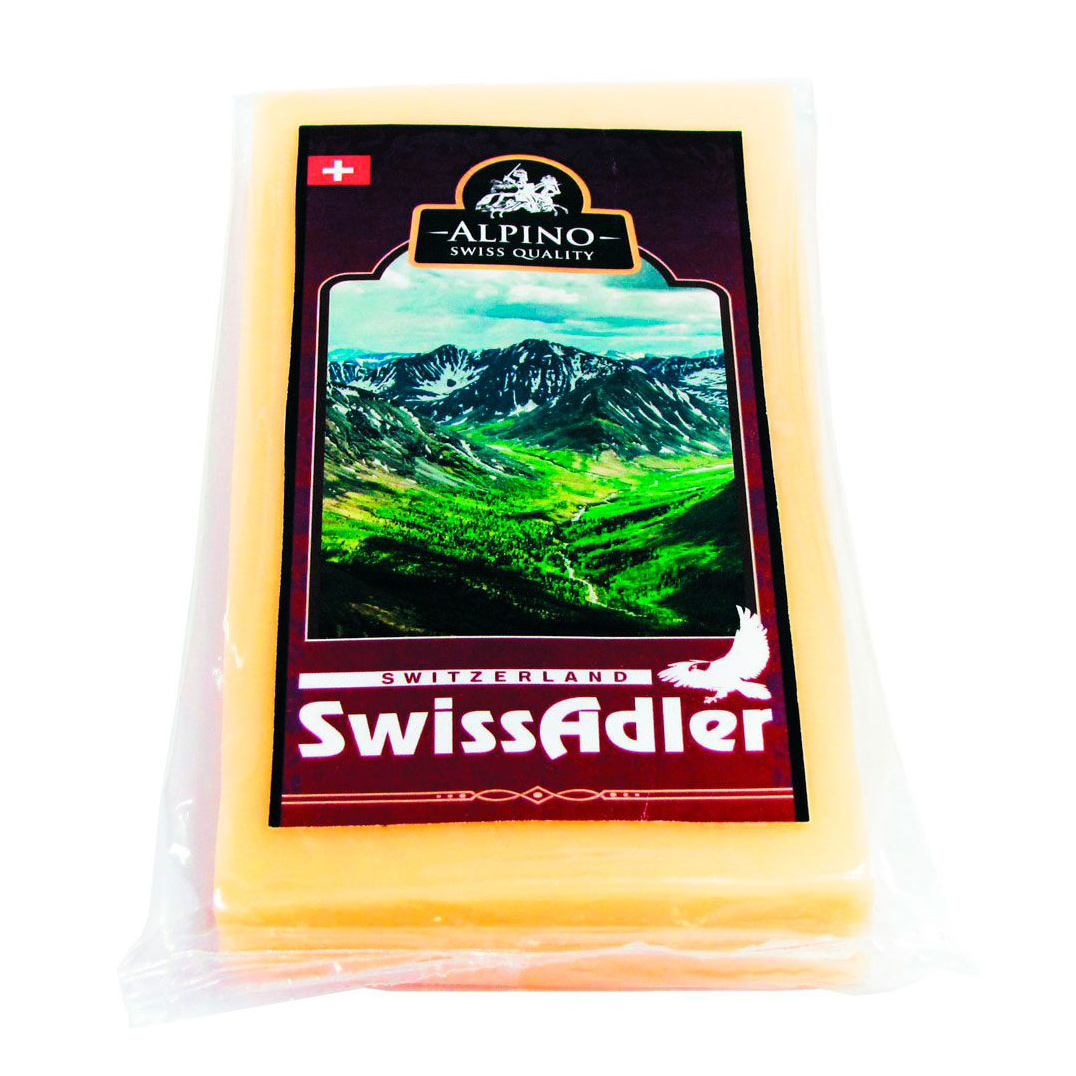 Сыр Свисс Адлер Alpino 45% 200 г