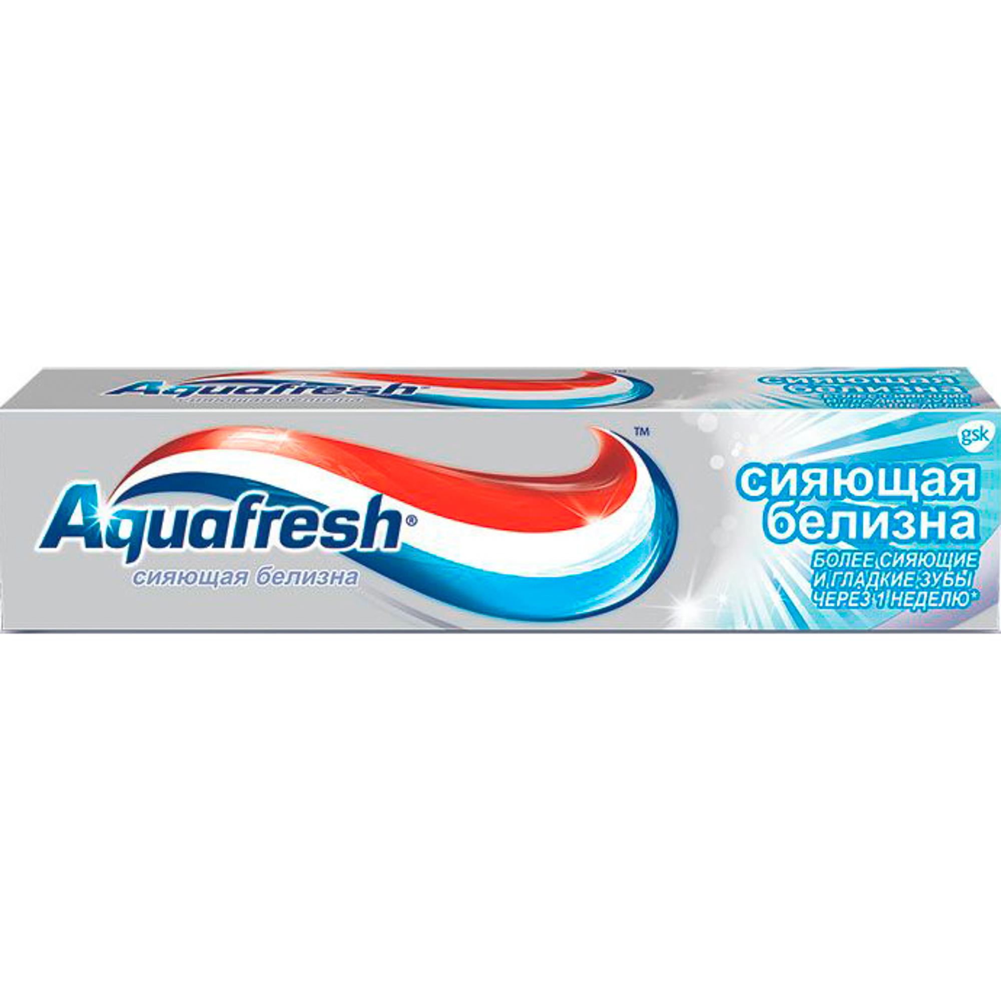 Зубная паста Aquafresh Сияющая белизна 100 мл фото