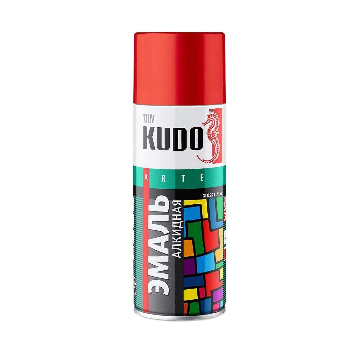 Фото - Эмаль Kudo универсальная красно-коричневая 520 мл эмаль kudo термостойкая
