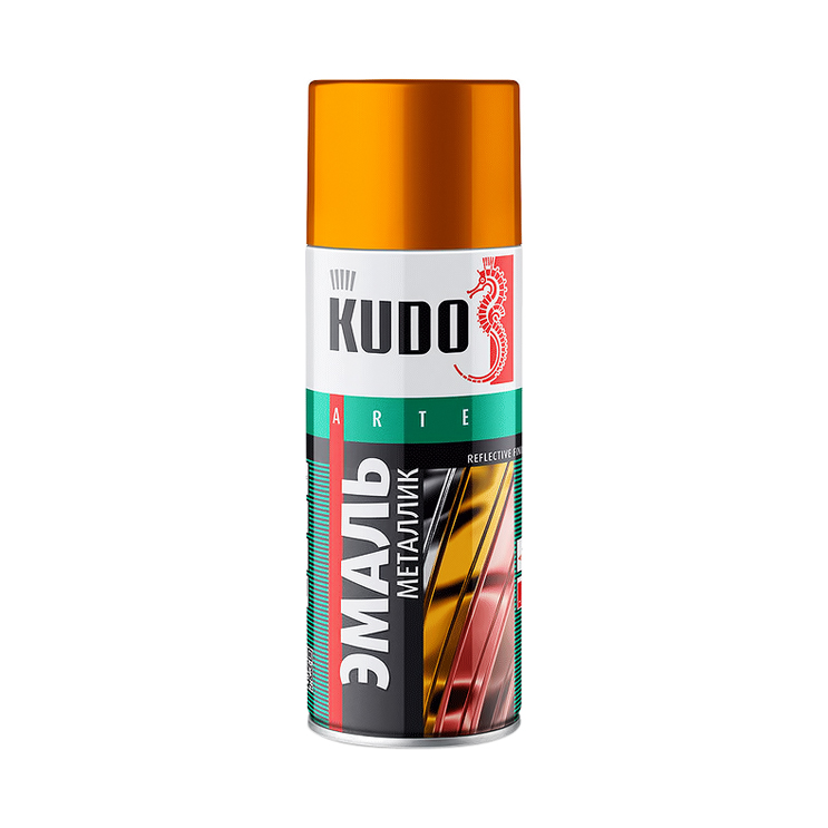 Эмаль Kudo металлик универсальная старая медь 520 мл эмаль аэрозольная kudo 1026 универсальная 520 мл серебро арт эк000013304