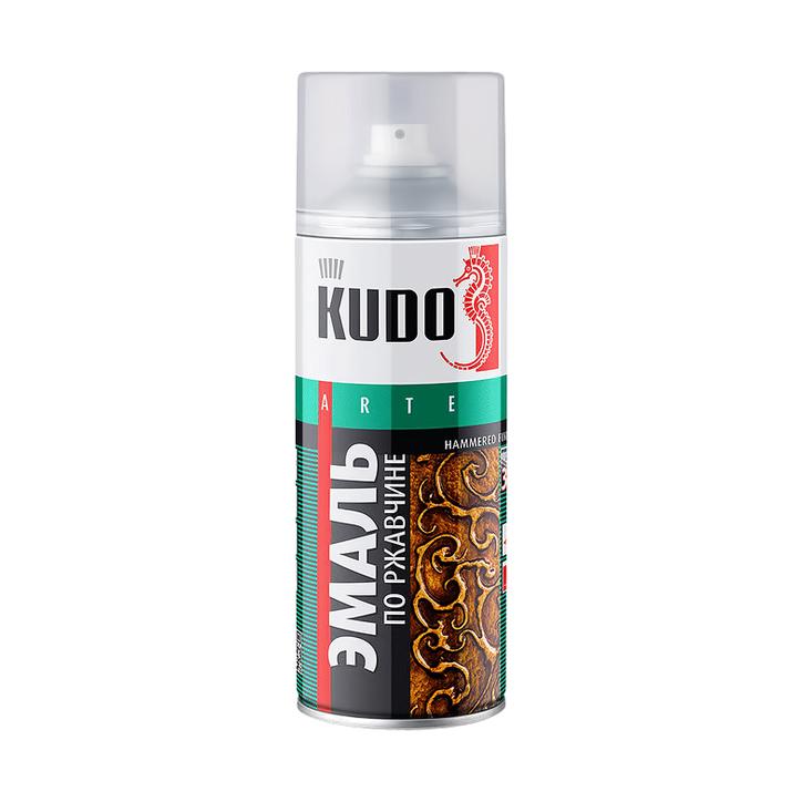 Фото - Эмаль Kudo по ржавчине молотковая медная 520 мл эмаль kudo термостойкая