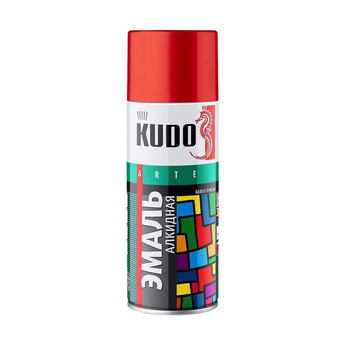 Эмаль Kudo универсальная сиреневая 520 мл эмаль аэрозольная kudo 1026 универсальная 520 мл серебро арт эк000013304