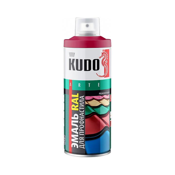 Фото - Эмаль Kudo RAL для металлочерепицы шоколадно-коричневый 520 мл эмаль kudo термостойкая