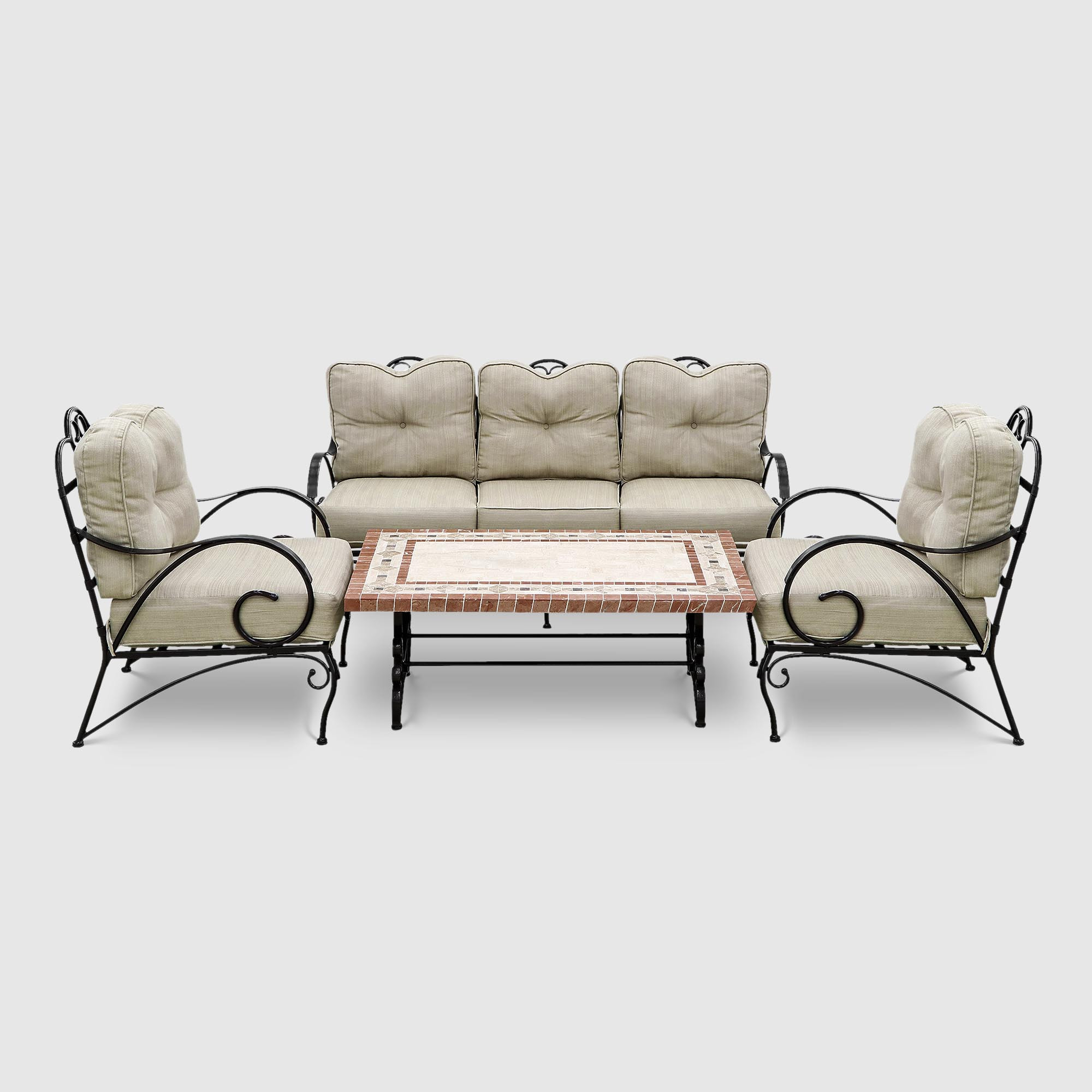 Комплект мебели Dongye стол + скамья+2 стула
