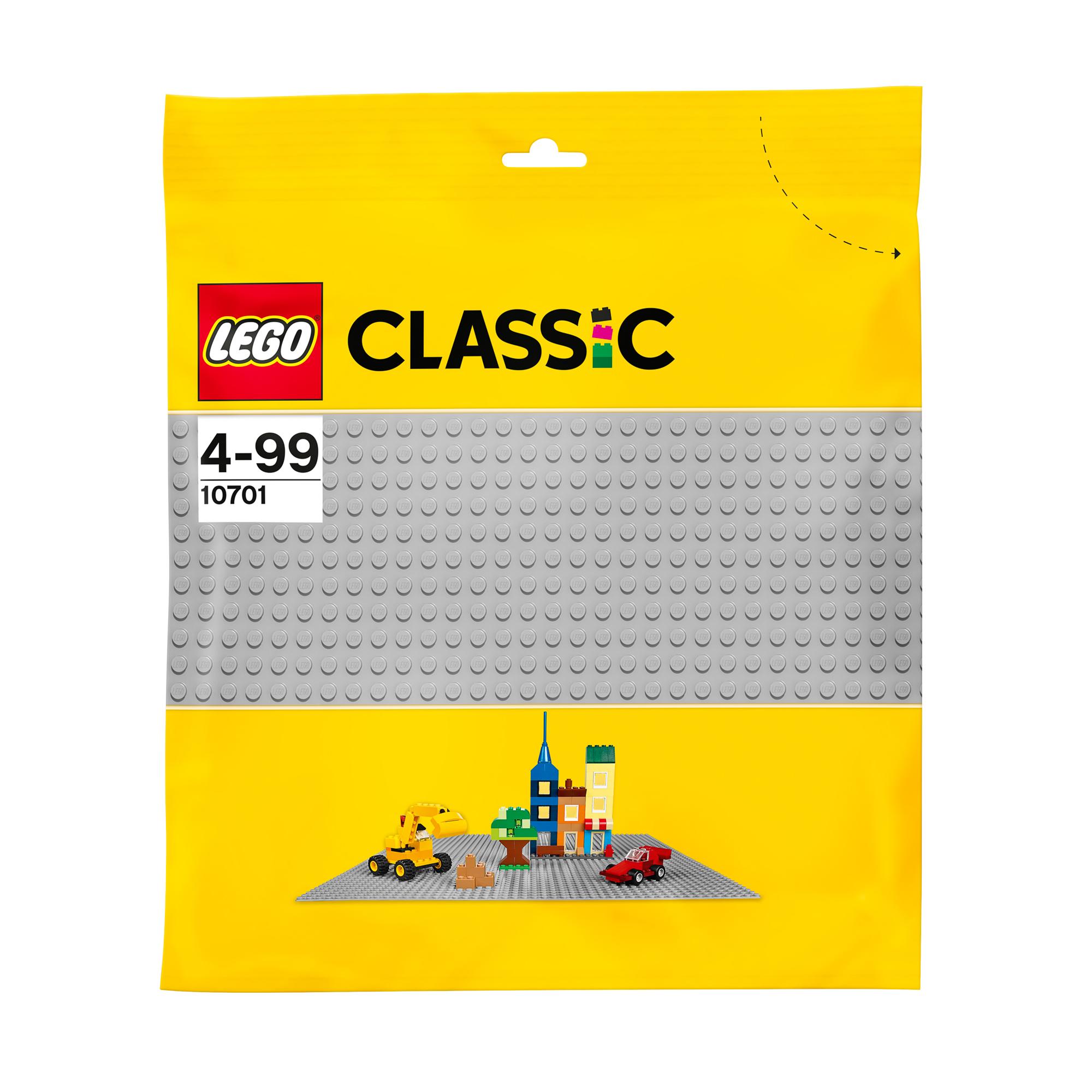Игрушка Классика Строительная пластина серого цвета 10701 фото