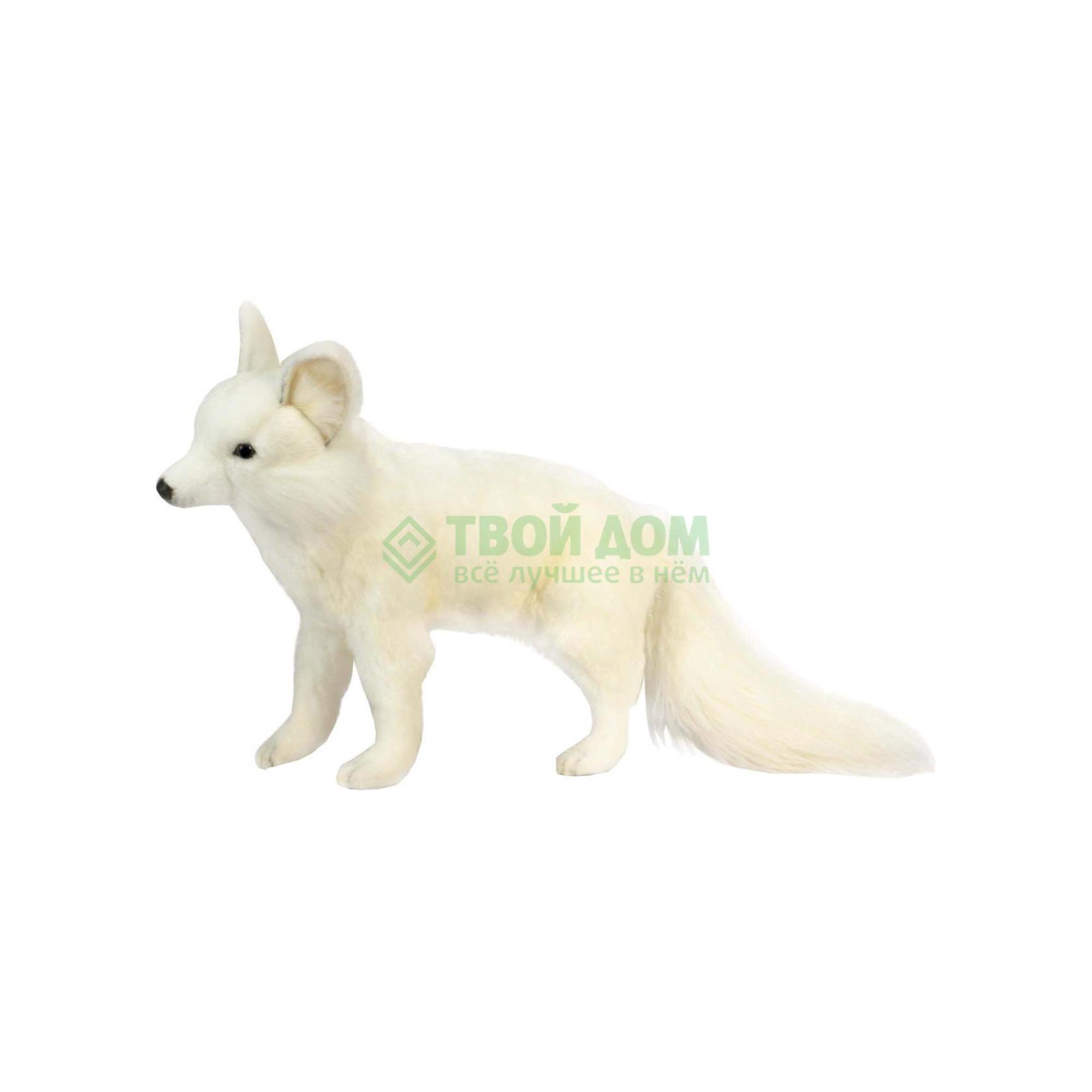 Мягкая игрушка Hansa Лисица белая стоящая 40 см 4698 фото