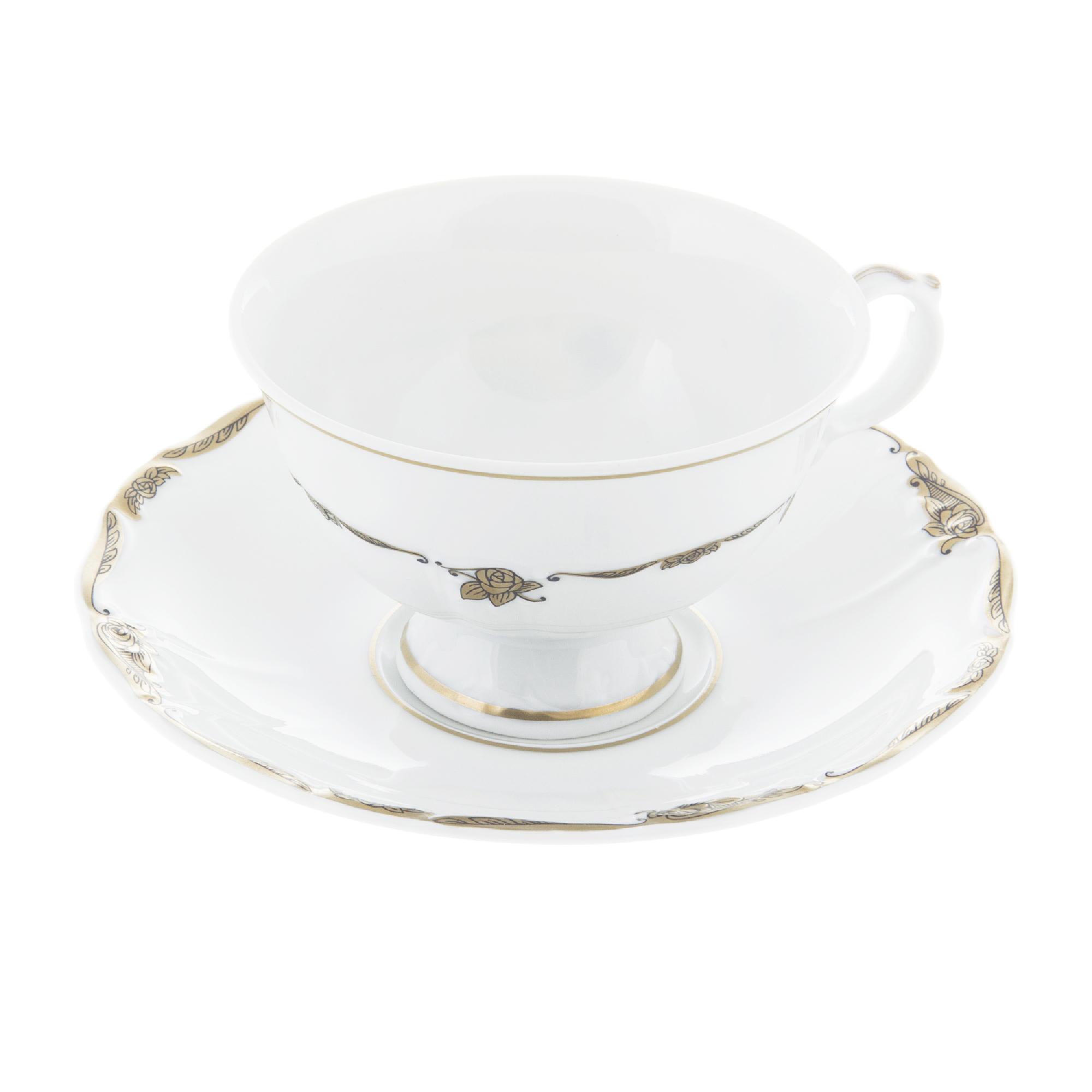 Фото - Чашка с блюдцем Thun 1794 Мария Луиза Элегия салатник thun мария луиза 16 см